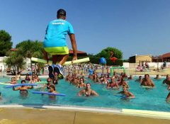 camping avec animations Mimizan Plage