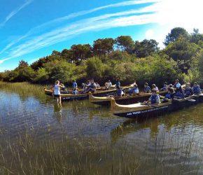 camping avec lac Mimizan