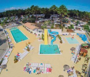 camping avec parc aquatique Cap Ferret