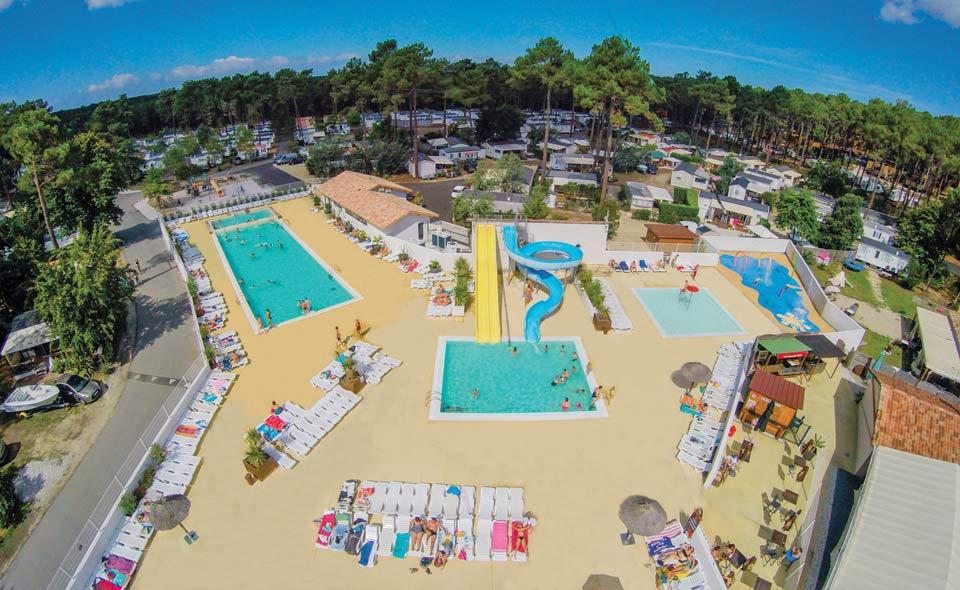 camping avec parc aquatique Lège-Cap-Ferret