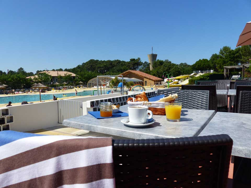 Camping la plage camping mimizan 4 stars seaside with pool - Camping marseillan plage avec piscine ...