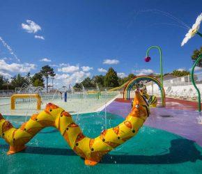 camping avec piscine Parentis-en-Born