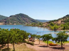 camping bord de lac Clermont l'Herault