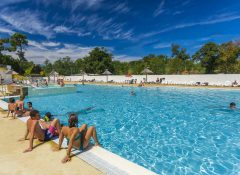 camping Capbreton piscine