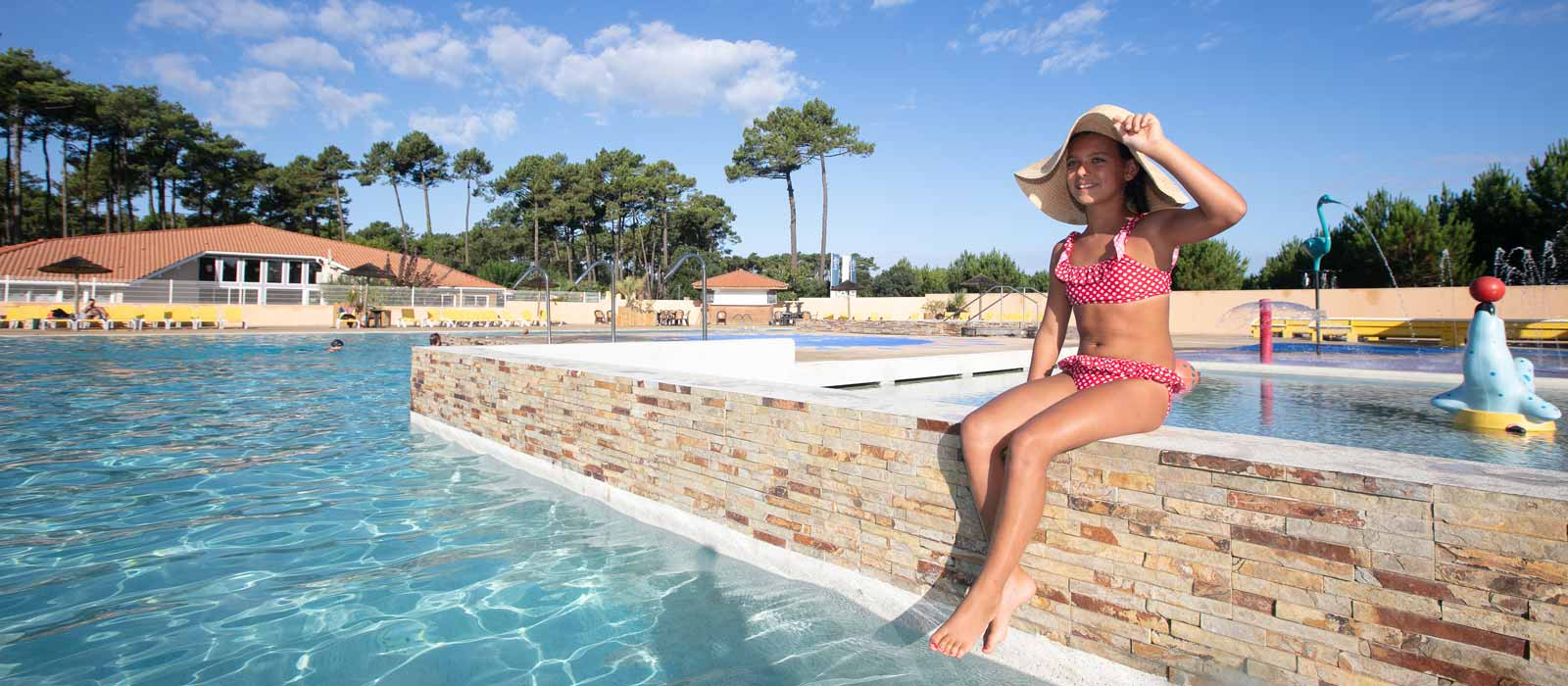 camping les oyats piscine