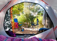 emplacement camping Mimizan Lac