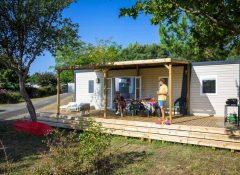 location mobile home Mimizan Plage
