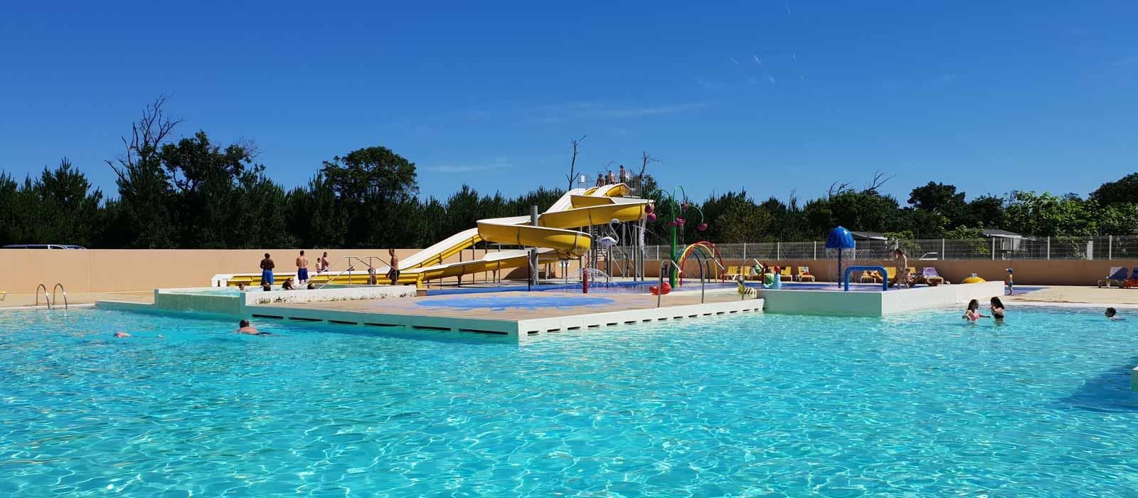 Campings avec piscine chauffée dans le sud