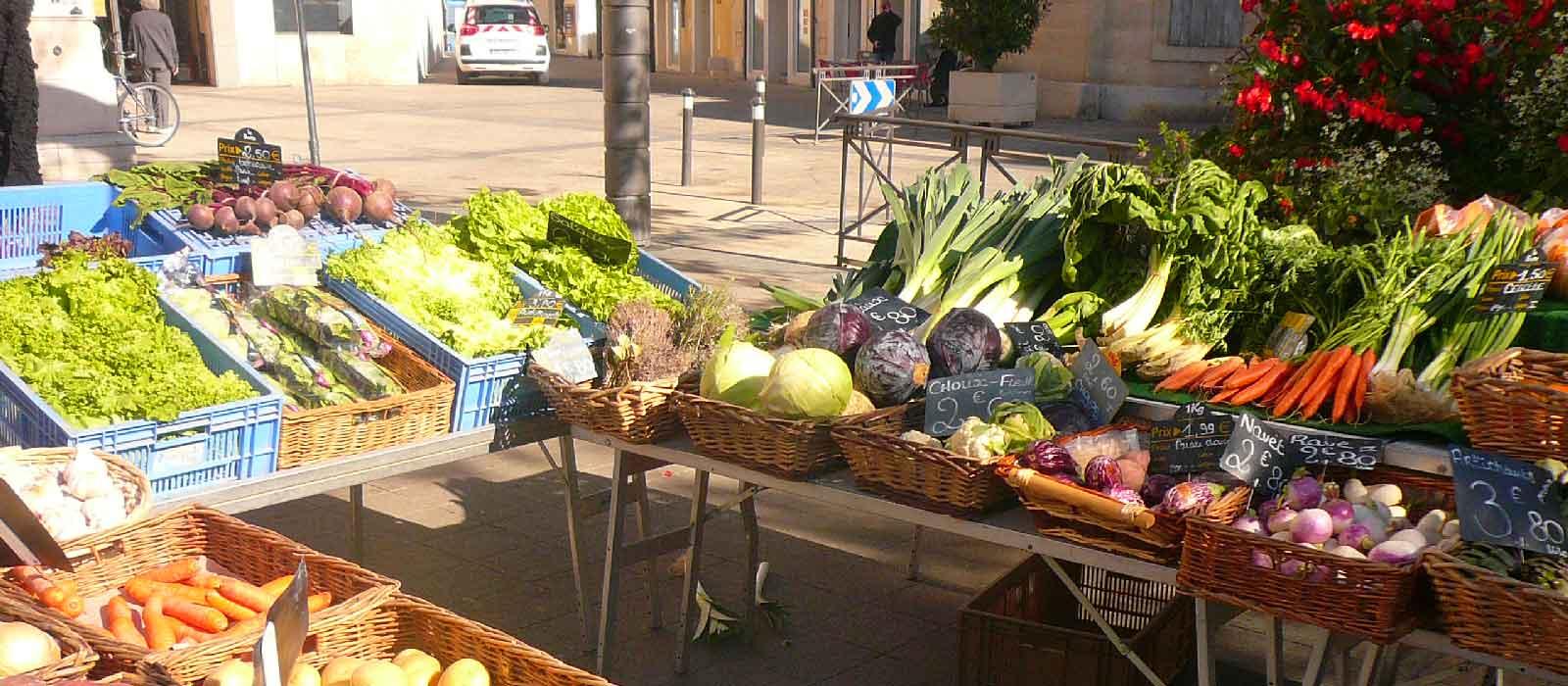 marchés en Gironde